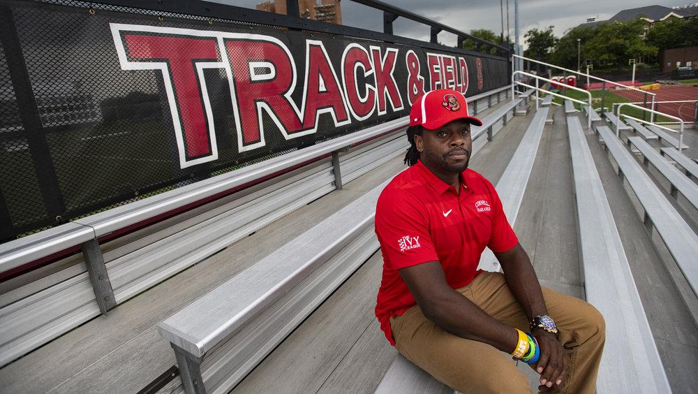 New Track & Field coach portrait.