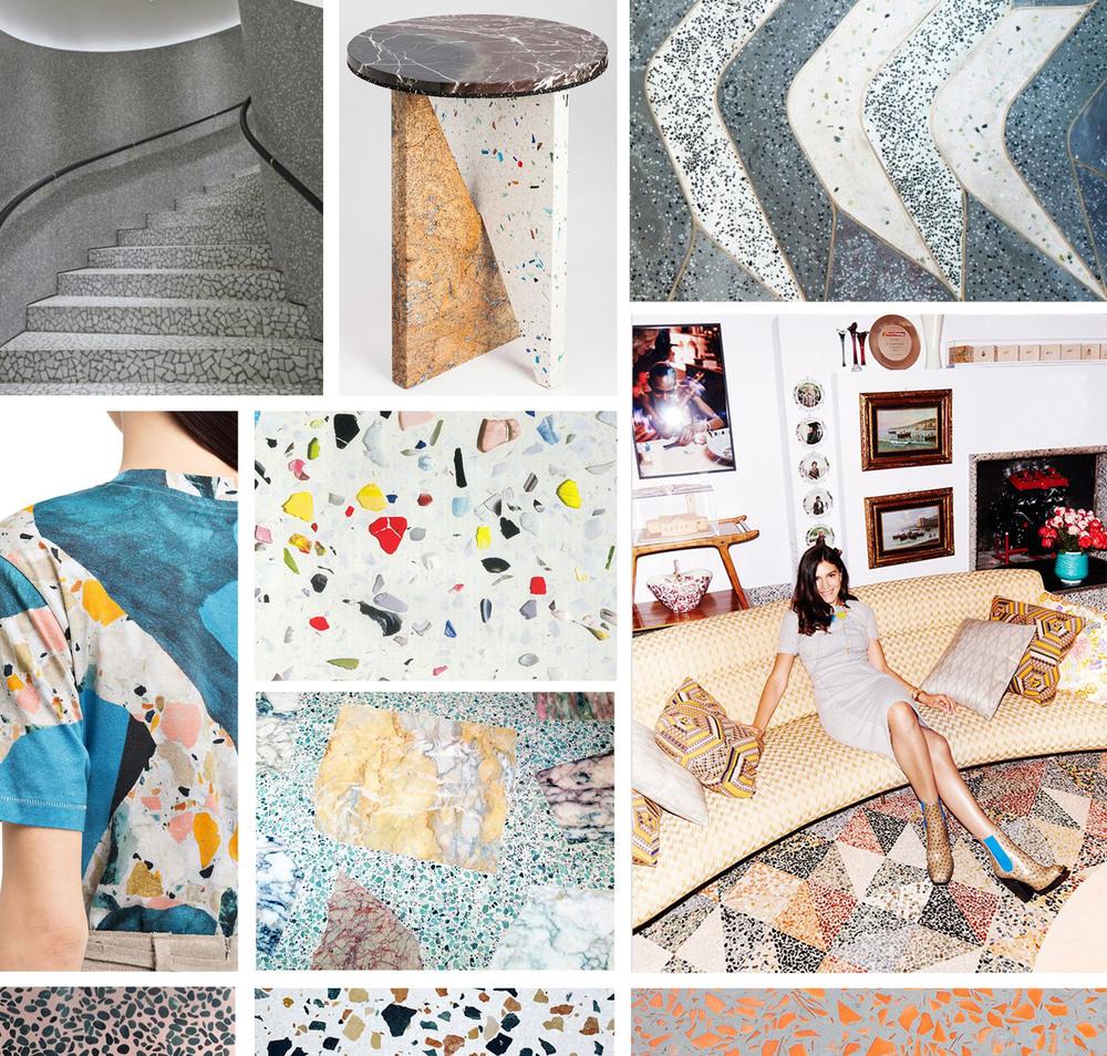 Current Obsession Terrazzo Ngaio Parr Design Illustration Creative Consultation