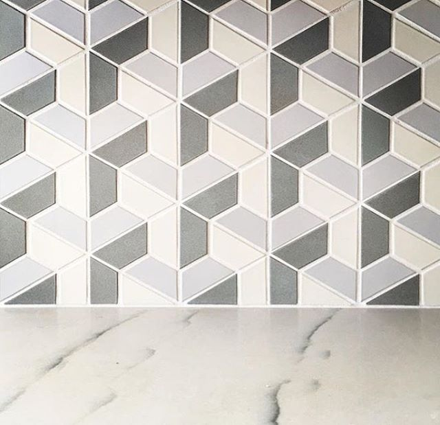Escher in the new year in (s)tile. Design: @lanemcnabinteriors