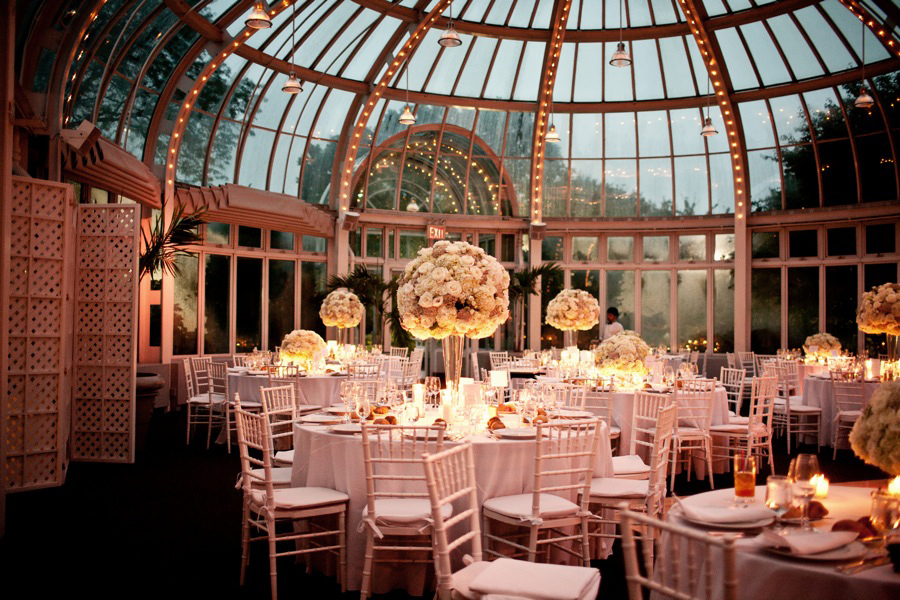 ... Wedding Planning : The Bride Wedding Venue : The Palm House At The Brooklyn  Botanic Gardens Wedding Florals : Blondieu0027s Treehouse Ceremony Music ...