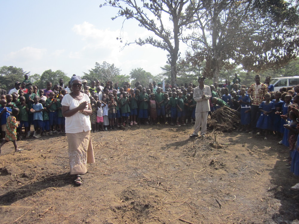 Site for the NEw Secondary school in Baiwala