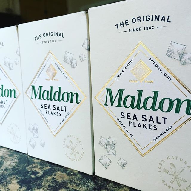 Using only the best ingredients #maldonsalt #ricksonsnuts #ingredients #quality #homemade #smallbatch