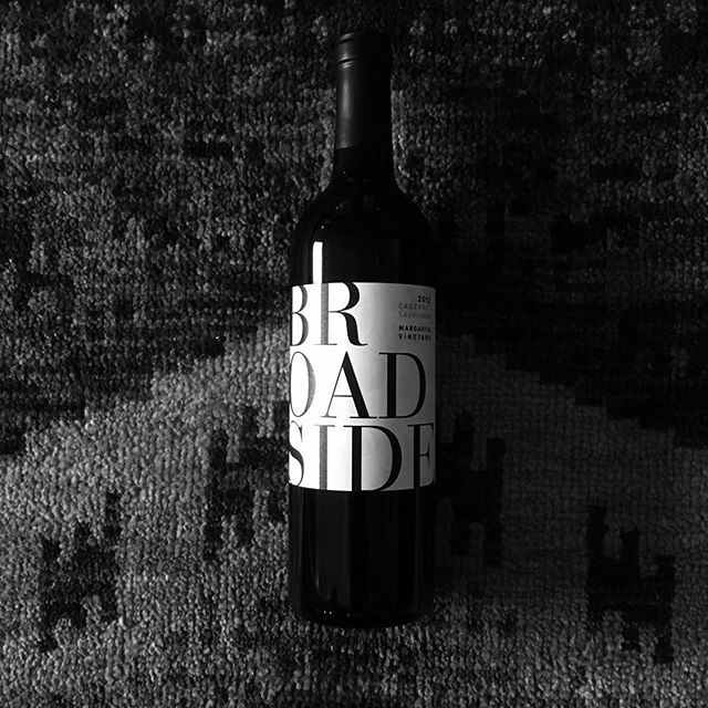 #broadside #wine #cabsav #cabernet #redwine #ricksonsnuts