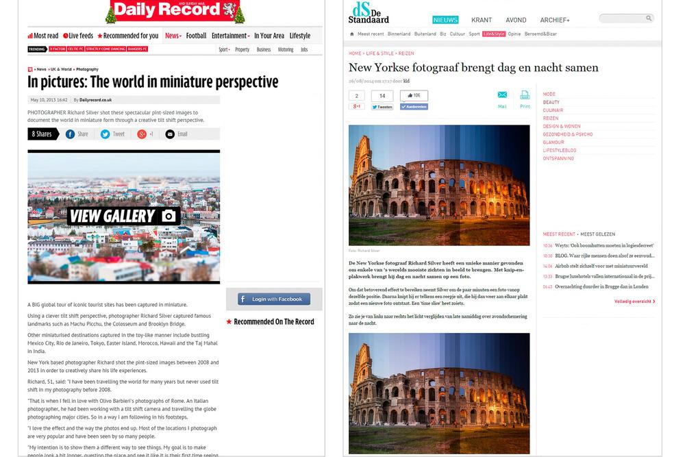 Daily Record, UK - De Standard, Germany