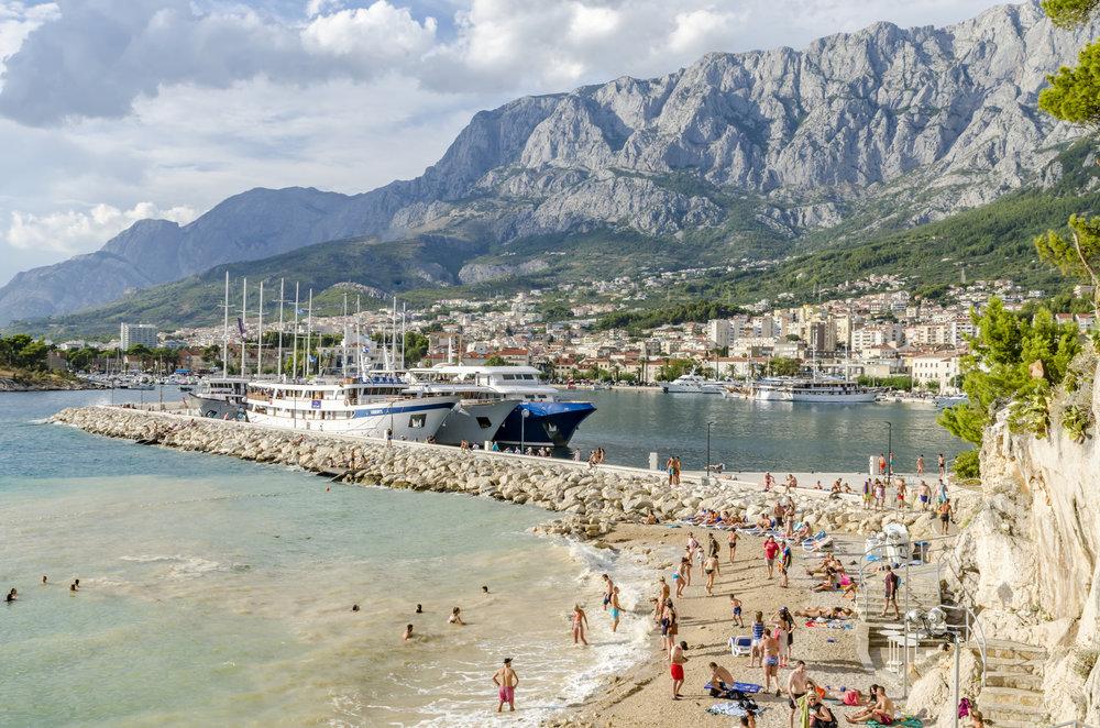 Port of Marakaska Waterfront - Marakaska, Croatia