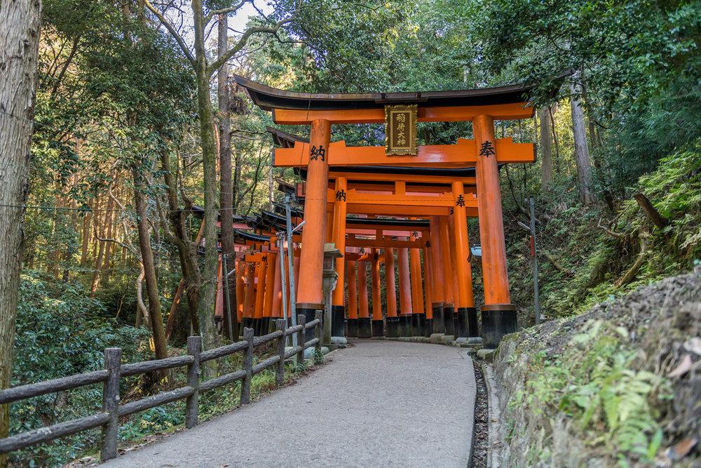 Fushimi Inari-taishi Shrine, Kyoto