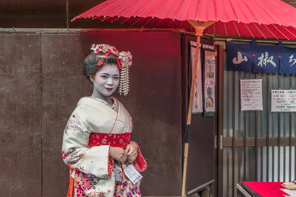 Genuine Geisha, Kyoto