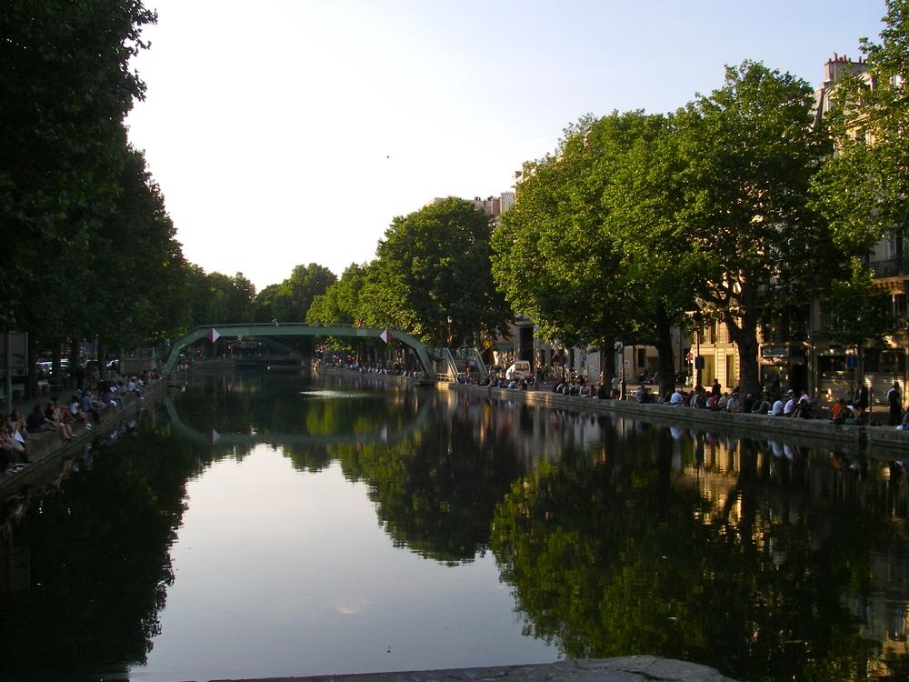 Le Canal St.-Martin, 10ème arrondissement, Paris