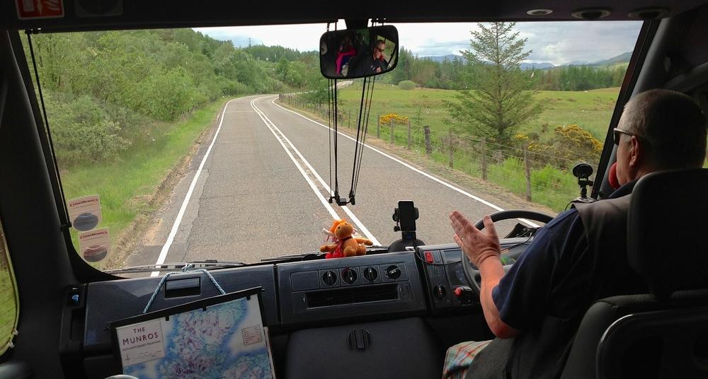 Kenny, Highlands Storytellerextraordinaire