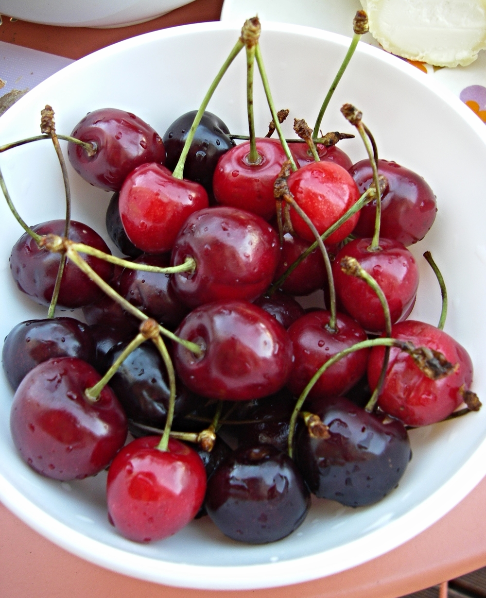 sometimes life is, indeed, a bowl of cherries