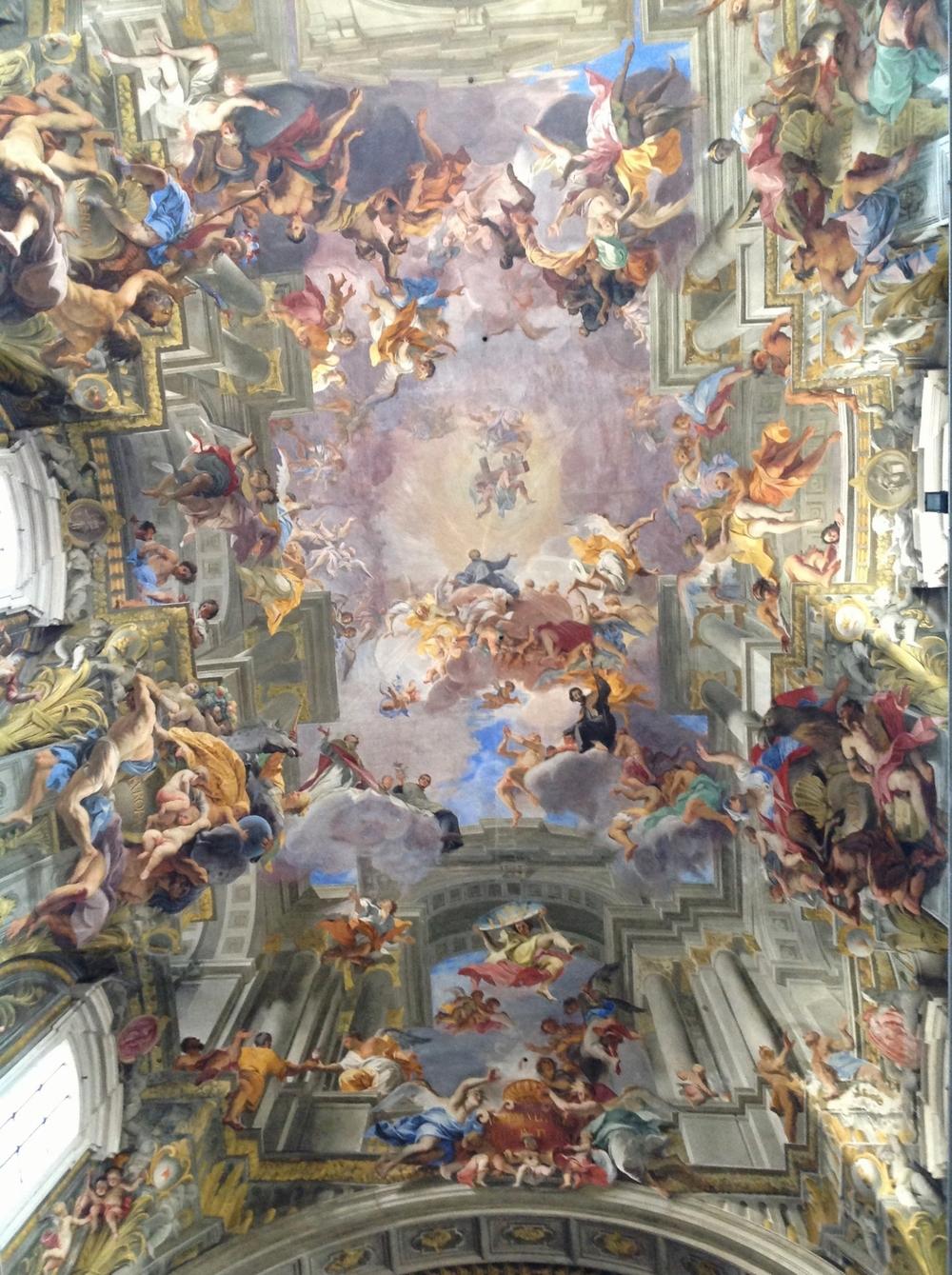 Frescoby Andrea Pozzo