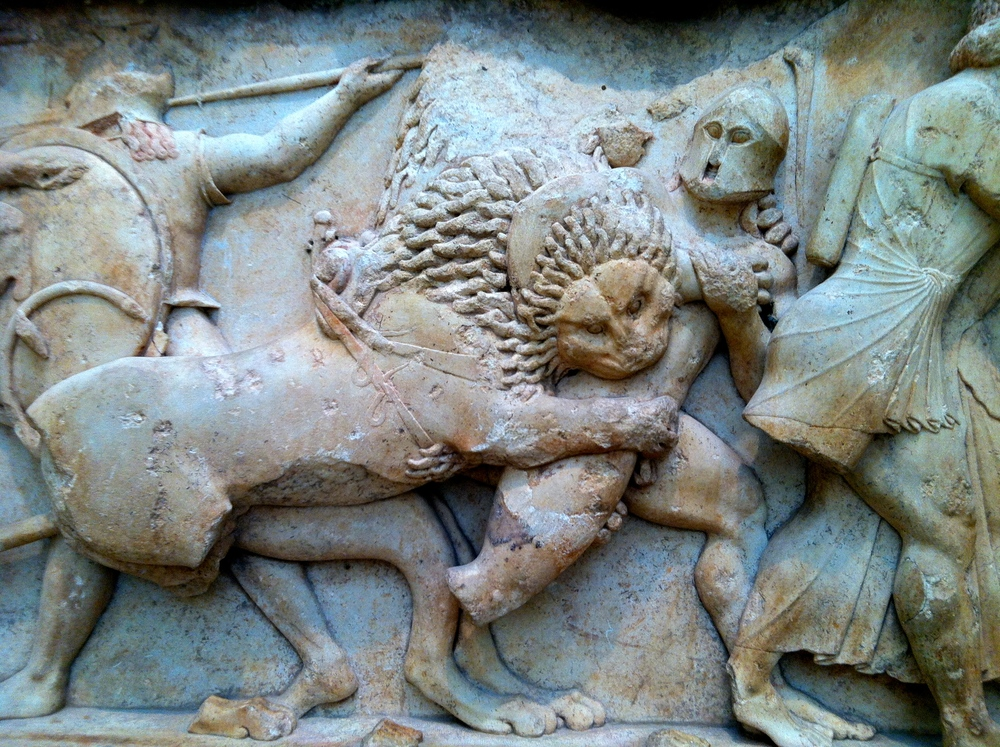 Portion of a Frieze At the aCropolis Museum