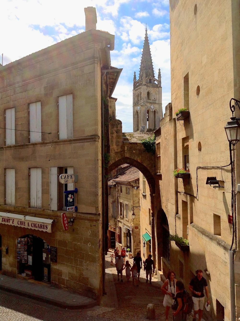 A Medieval passageway in Saint-Émilion
