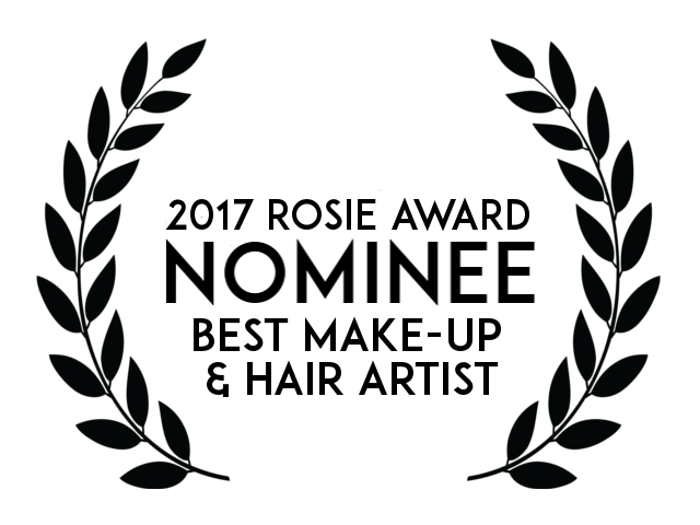 Best Makeup nomination for Corrine Simpson.