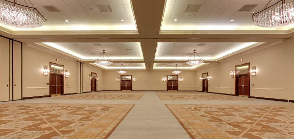Why are convention halls so creepy when they're empty?