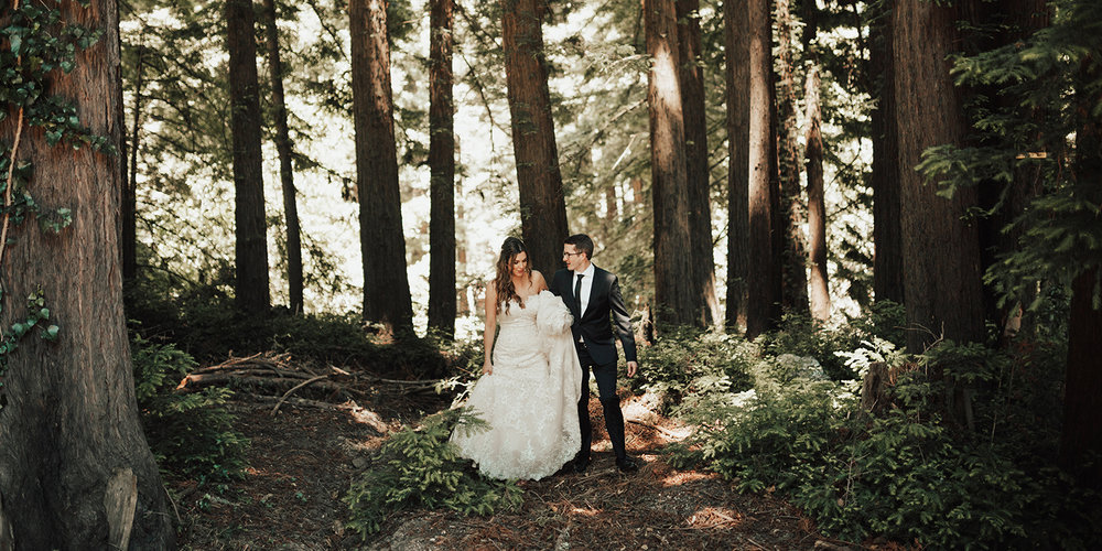 los angeles wedding photographer kinsey mhire destination malibu redwoods southern california