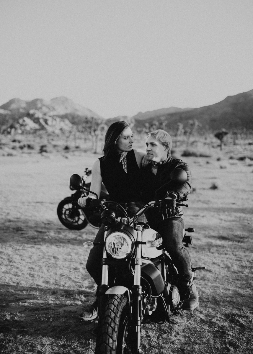 joshua tree motorcycle engagement photos-24.jpg
