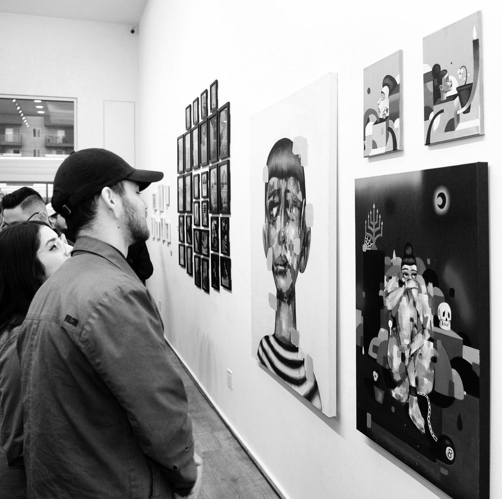 """""""The Showcase"""" at The Seventh Letter Gallery, 2018"""