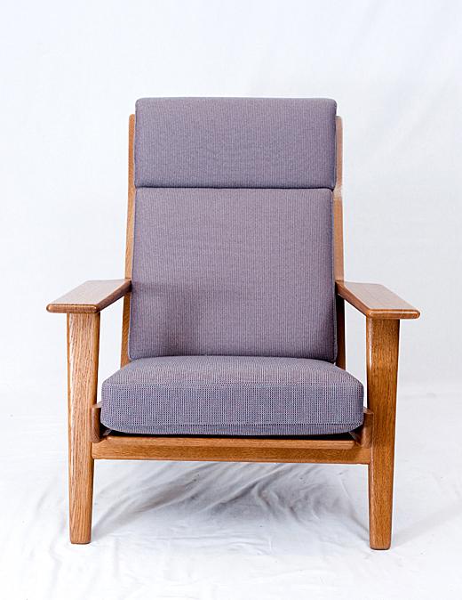 Hans Wegner GE290 High Back Armchair