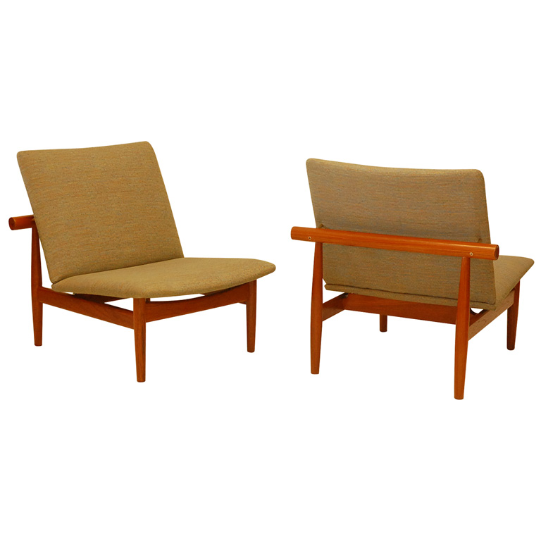 Pair of Finn Juhl Chairs  sc 1 st  Denmark 50 : finn juhl chair - Cheerinfomania.Com