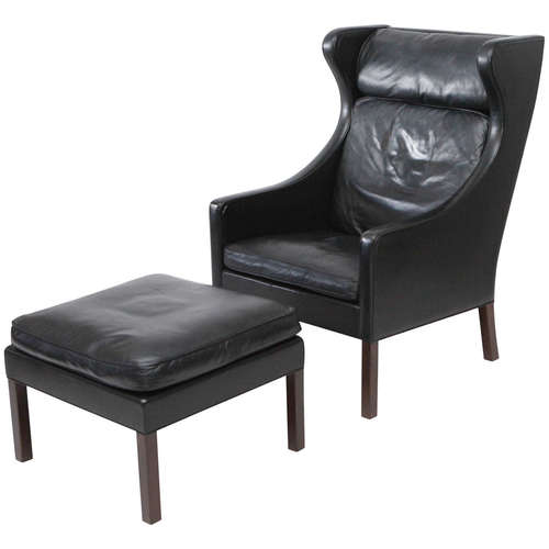 leather chair stool wingback for sale cape town slipcovers antique wing chairs