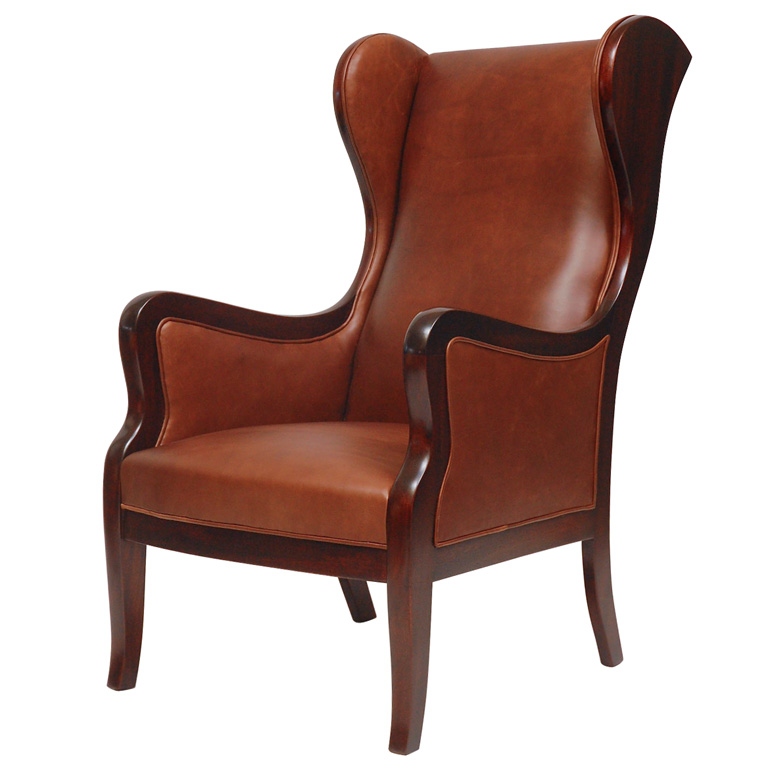 Frits Henningsen Wingback Armchair. DSC_0163