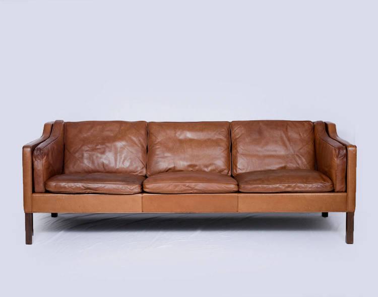 børge mogensen sofa Børge Mogensen Model #2213 Three Seat Sofa — Denmark 50 børge mogensen sofa