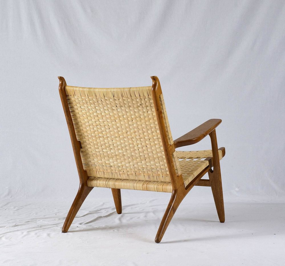 Hans Wegner CH 27 Lounge Chair