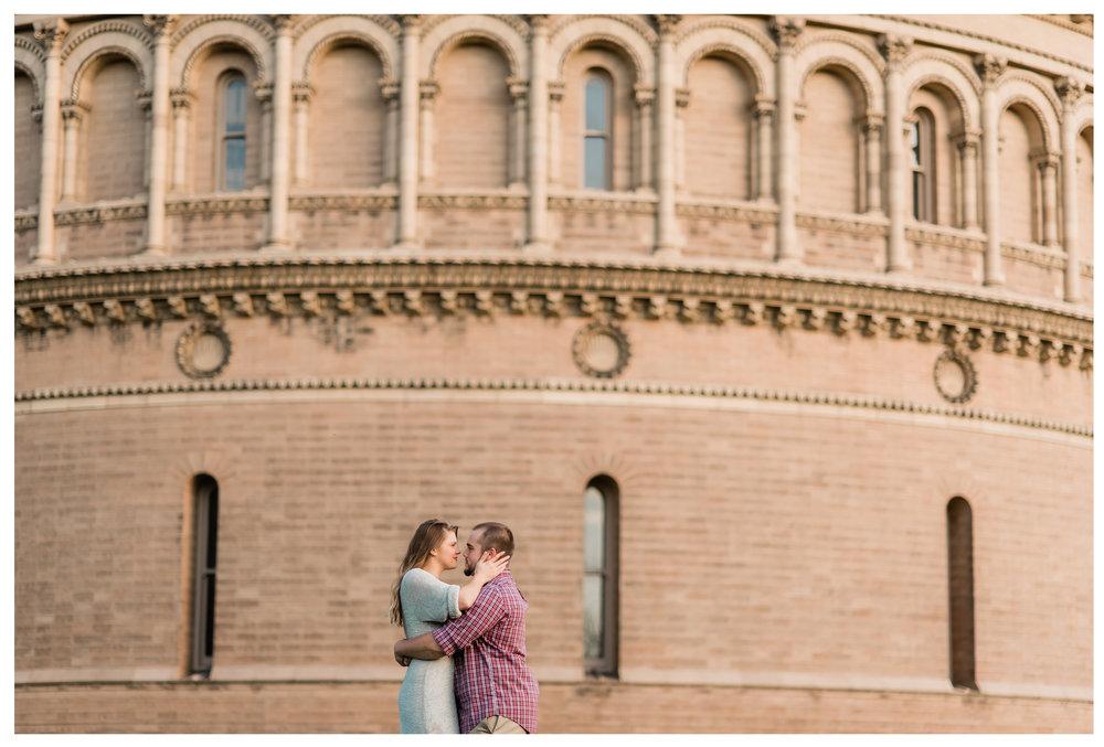 Yernes Observatory Engagement Photo