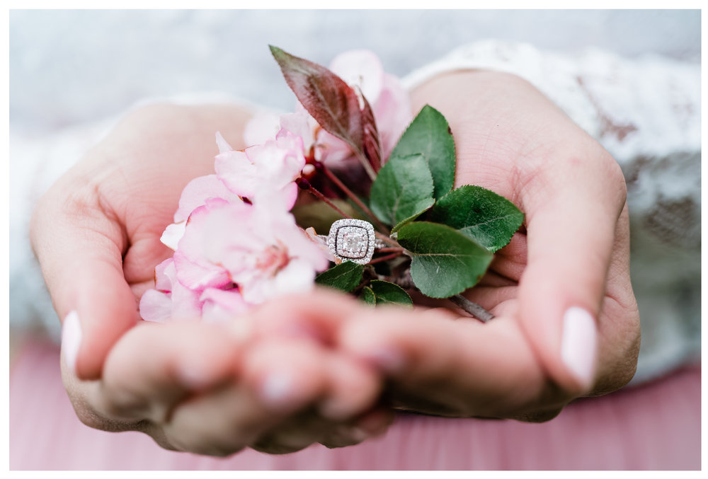 Spring Blossoms and Engagement Rings