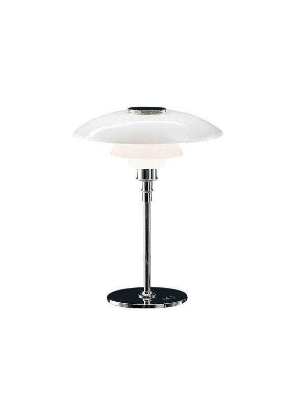 PH 4½ 3½ Glass Table Lamp