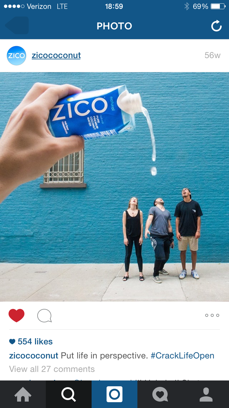Shot at The 88 for Zico Coconut Water