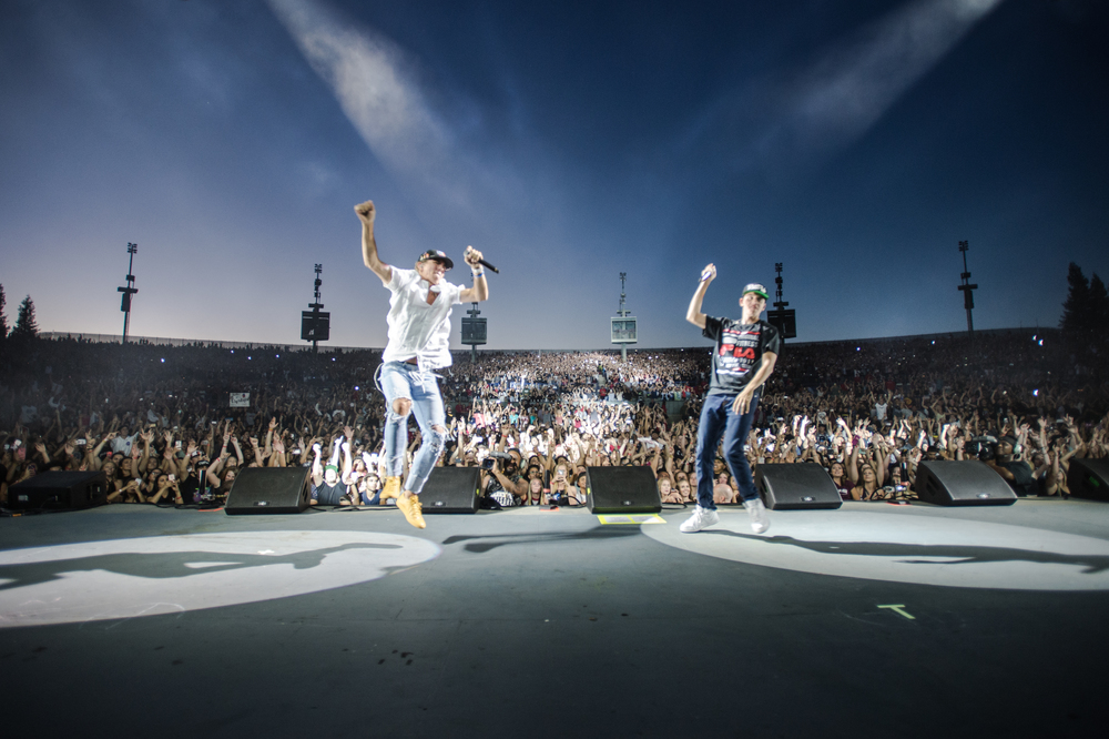 Onstage with Rhetorik and Logic