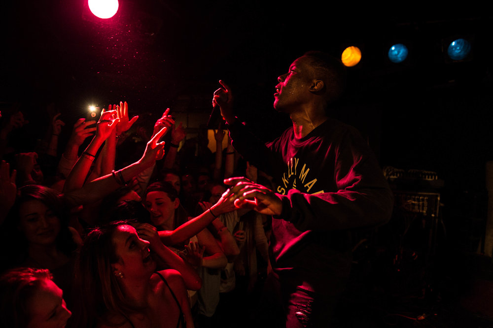 Skizzy live in Worcester, 2016