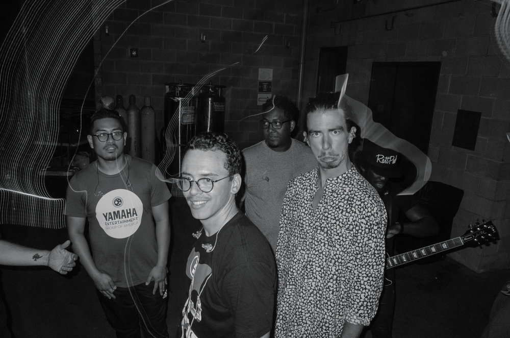 This image was shot directly after Logic and his bandmates left stage before an encore in Nashville