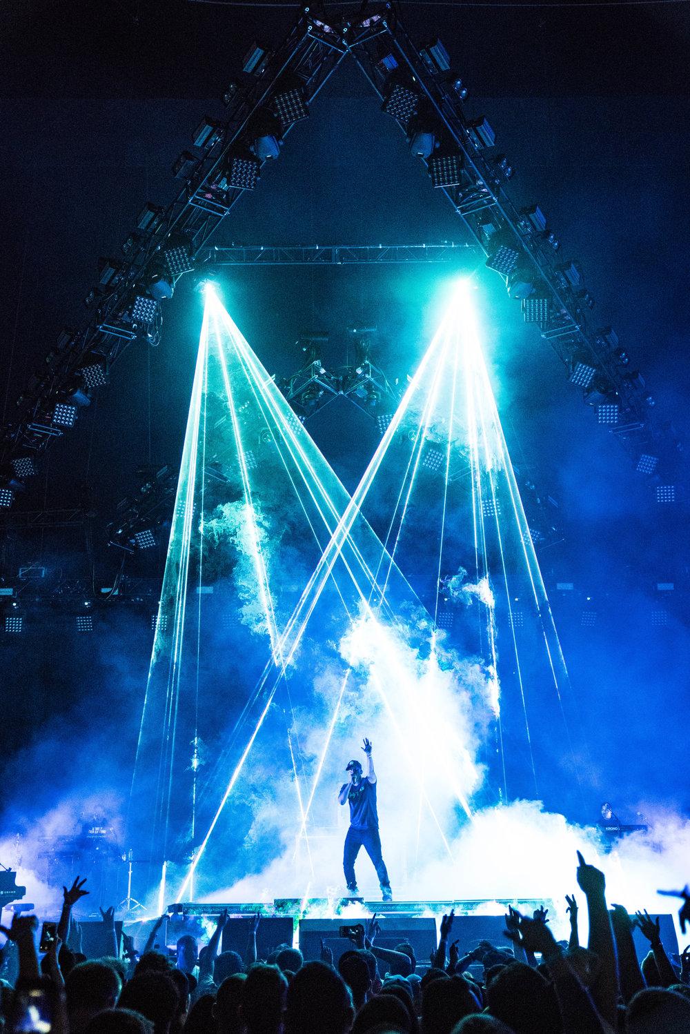 Logic performing Live, 2018