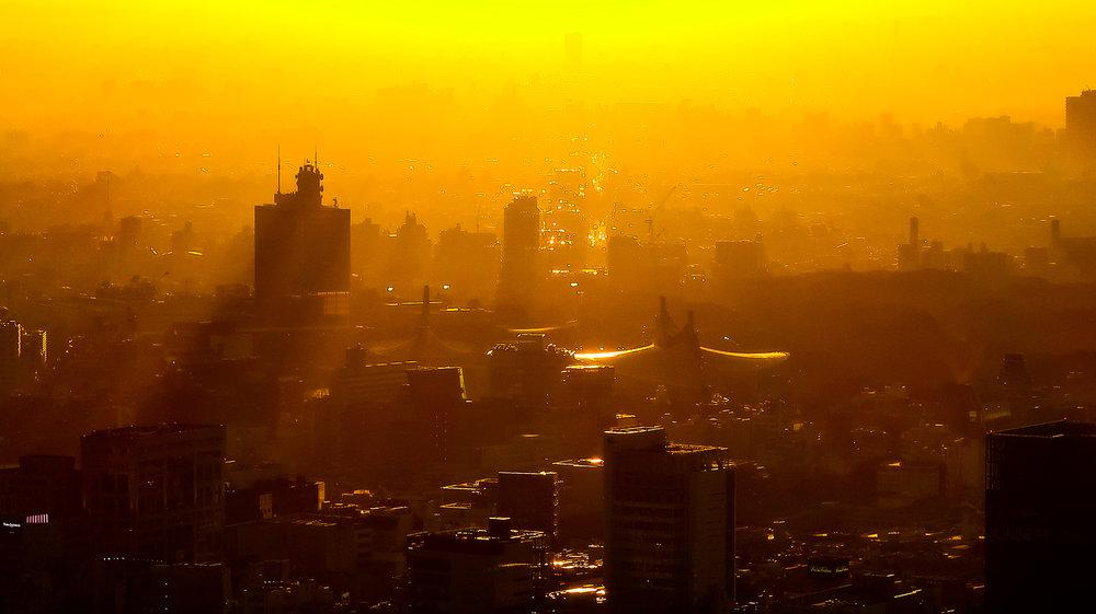 Dusk in Tokyo, 2017