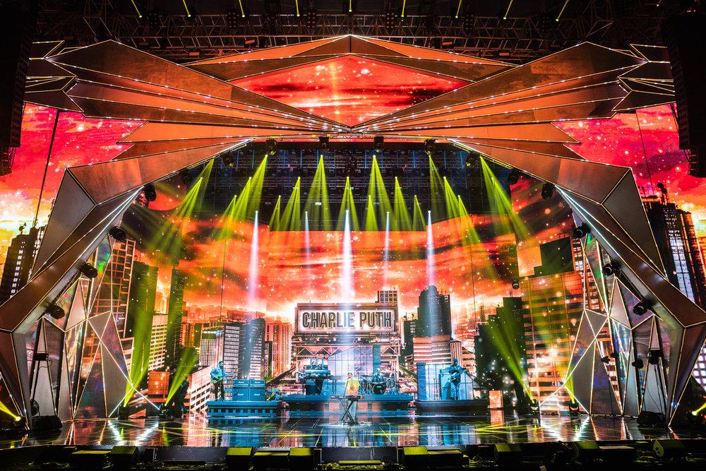 MBC Awards soundcheck in Seoul, KR, 2018