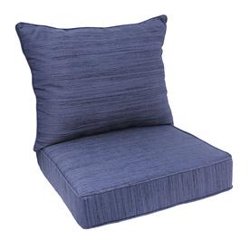 allen + roth  --     Navy Deep Seat Patio Chair Cushion   Item #:   492056   |  Model #:   05201055   $57 each (QTY 4 needed)