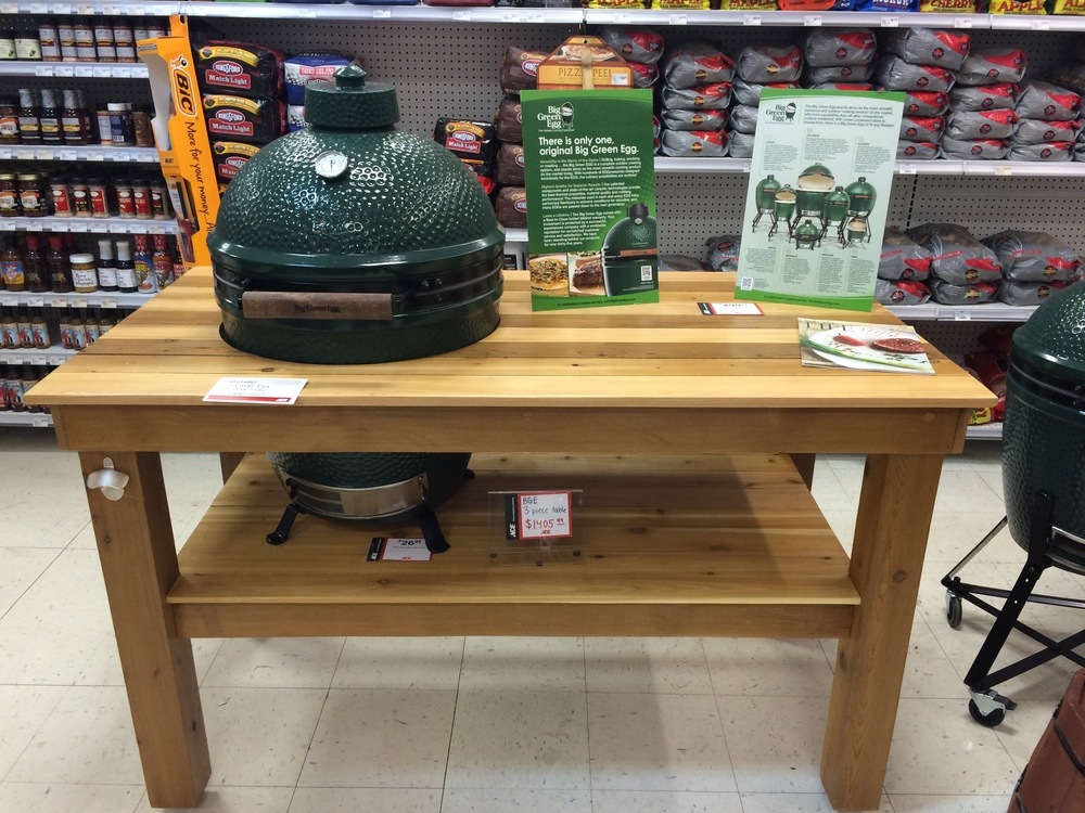Hereu0027s My Cedar Table On Display At The Cherry Creek Ace Hardware.