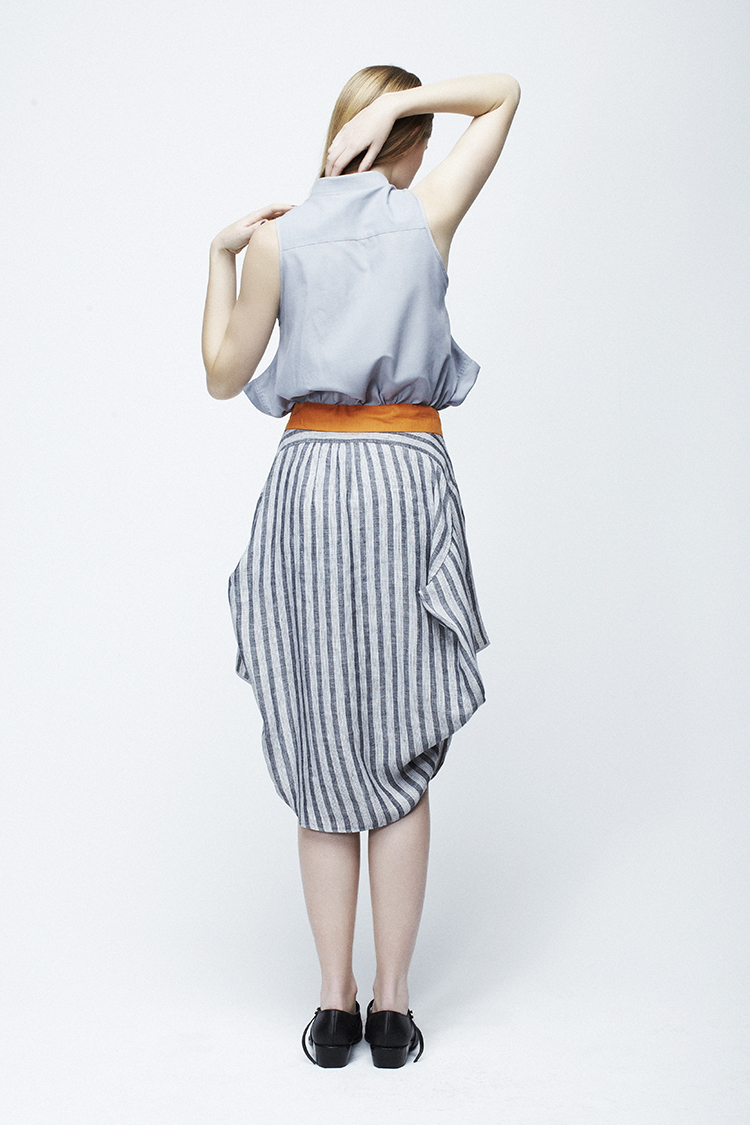 Pointy SKIRT and Pointy Pointy TOP.