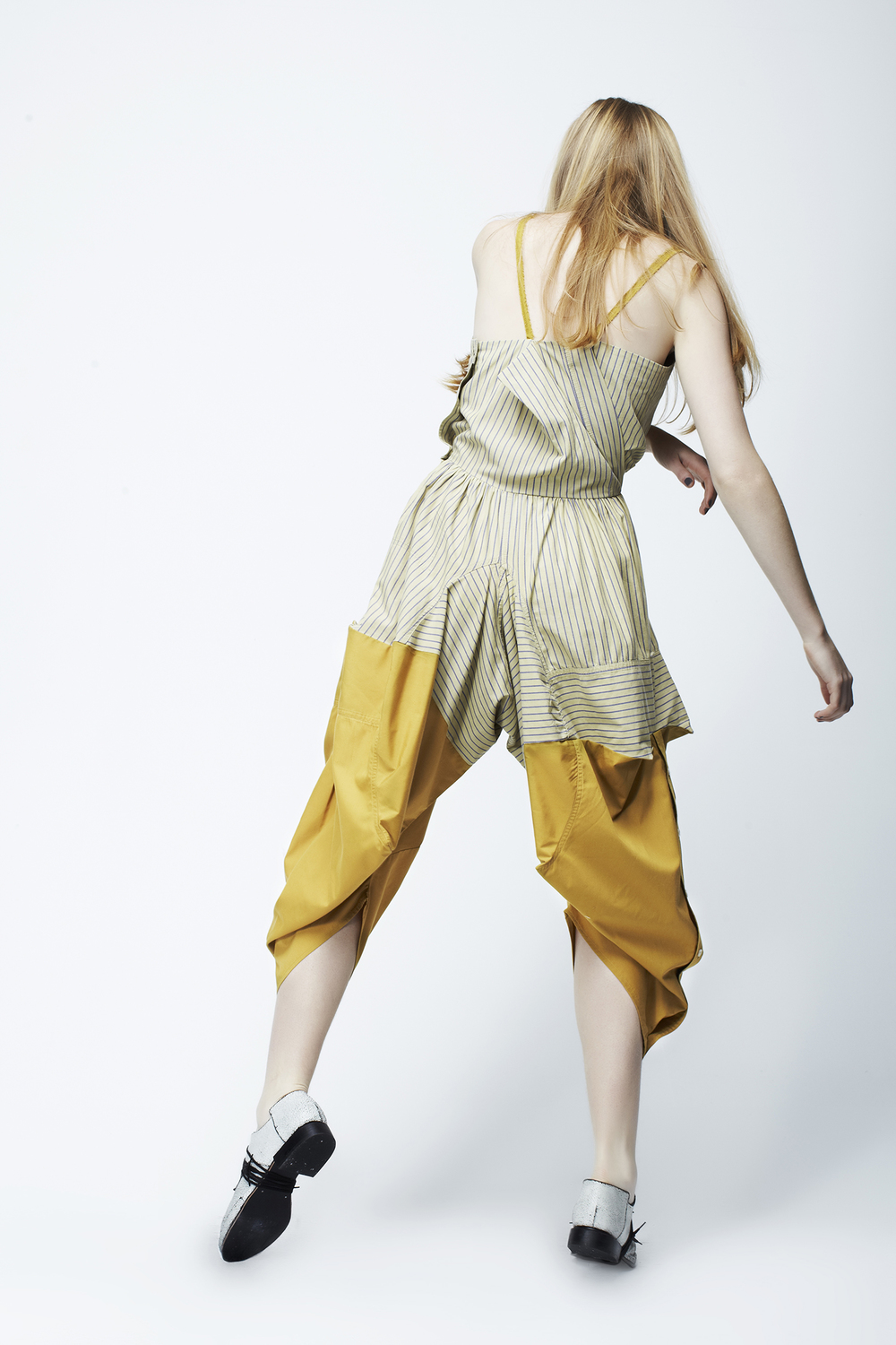 1 + 1 equals a jumpsuit, by Ellie Mücke 2010 Photography by Tomas Friml