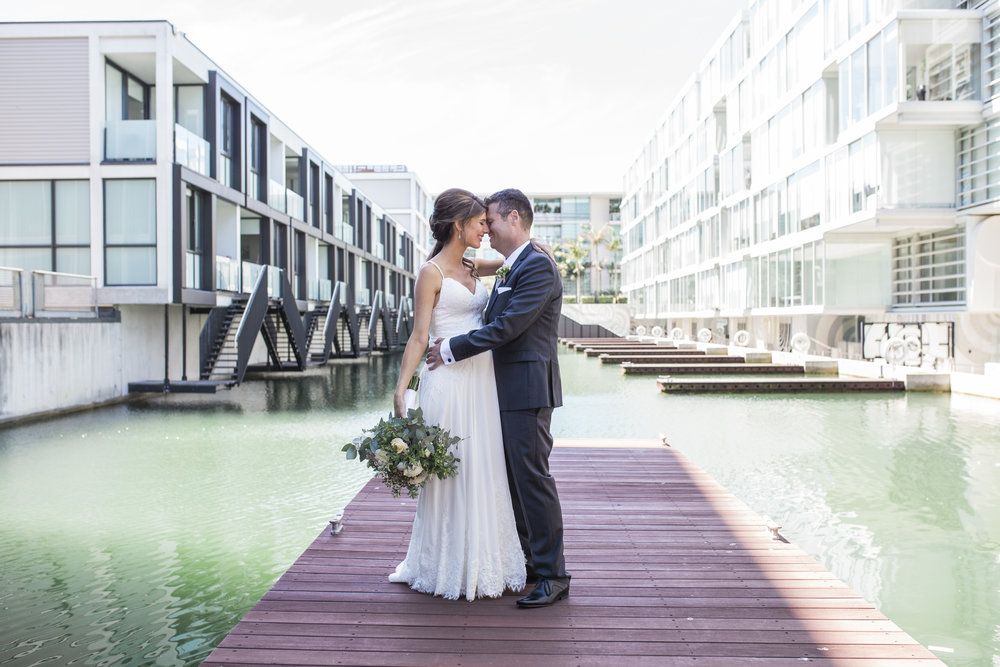 Sofitel Auckland wedding photo