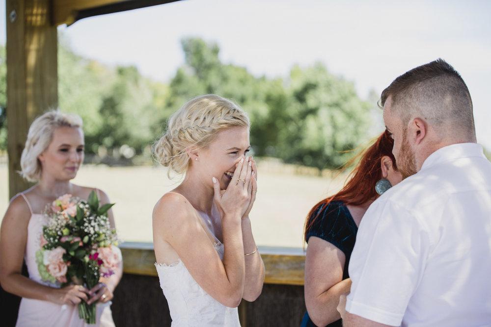 John Hill Estate wedding ceremony Auckland