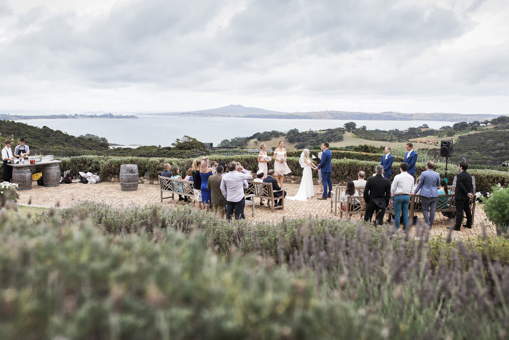 Mudbrick Vineyard Waiheke wedding