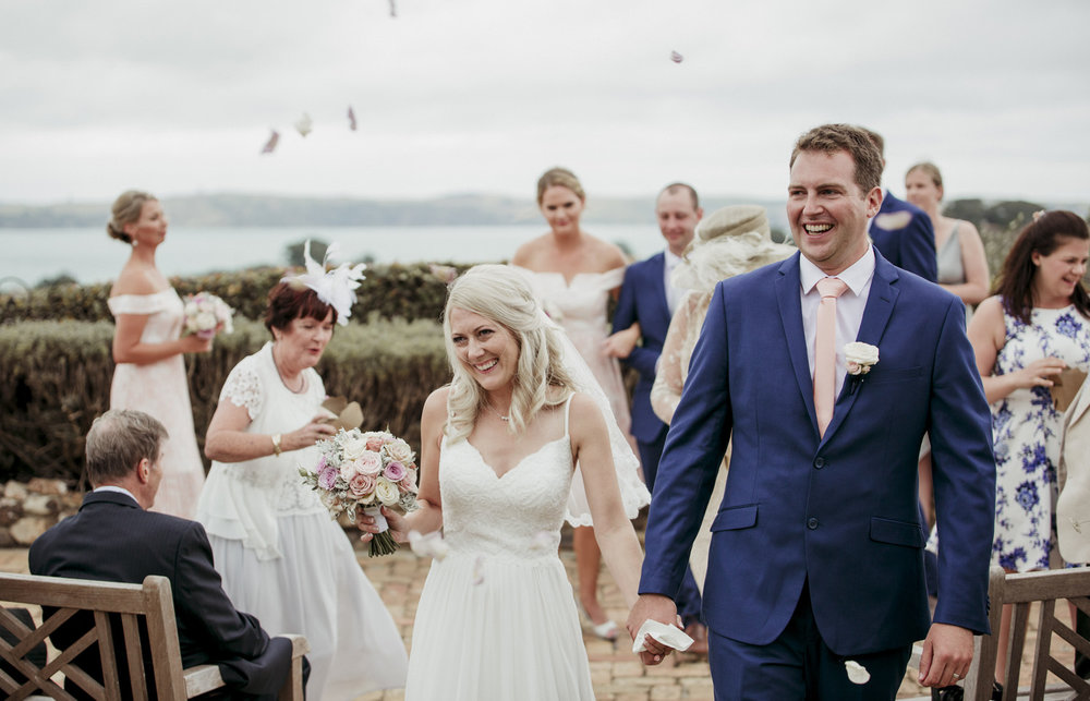 Mudbrick Vineyard Waiheke wedding photo