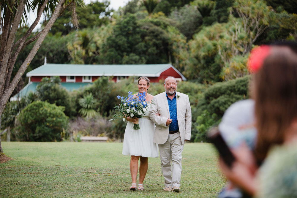 Piha Mill Camp wedding photo