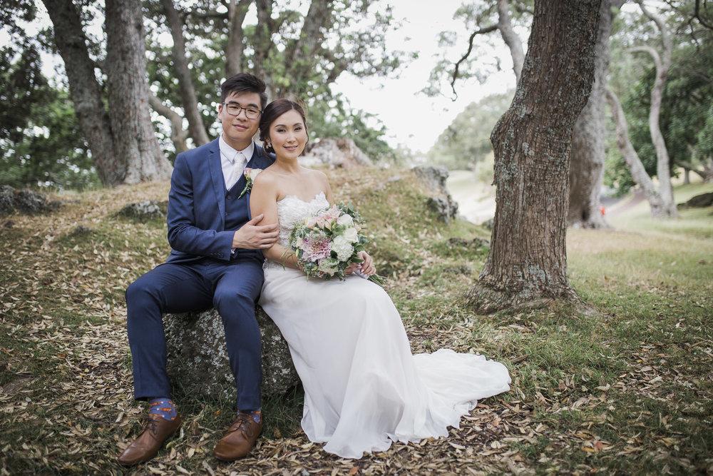 Cornwall Park wedding