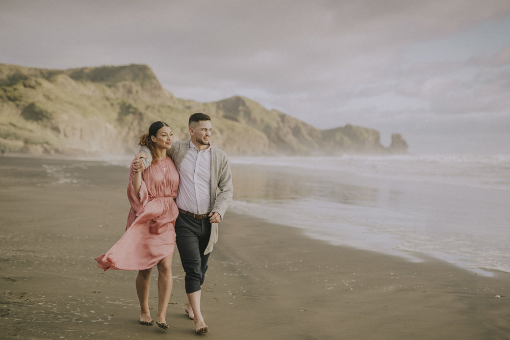 Bethells Beach wedding