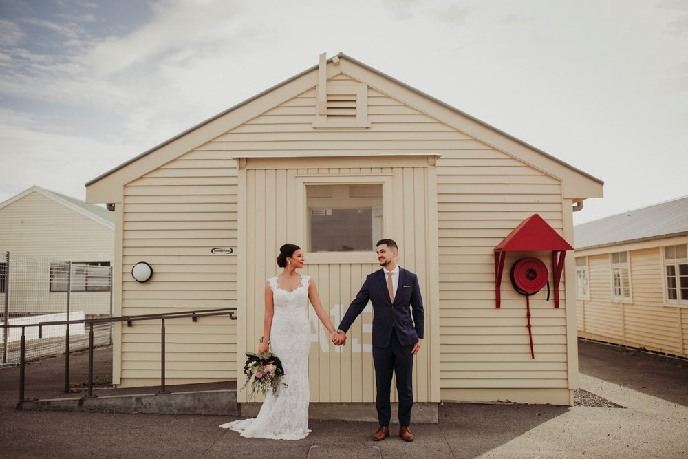 Officers Mess Narrow Neck wedding